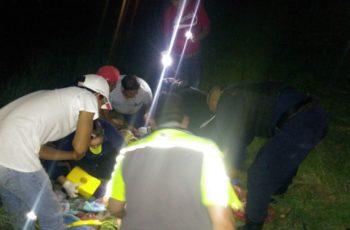 Volcadura dejó 4 lesionados en Asientos, Aguascalientes