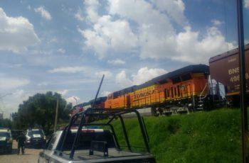 Mozalbete quiso descarrilar al tren en Aguascalientes para robarlo
