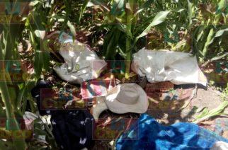 Encuentran cuerpo de campesino maniatado y encobijado en Ags