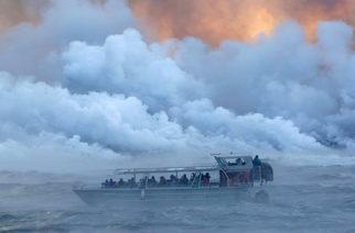 Hawái: Una bomba de lava deja al menos 23 heridos en un barco con turistas