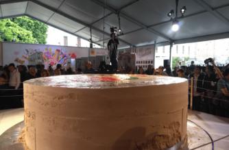 México rompe el récord del mazapán más grande del mundo