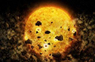 Insólito hallazgo de la NASA: captan estrella bebé que 'come' planetas