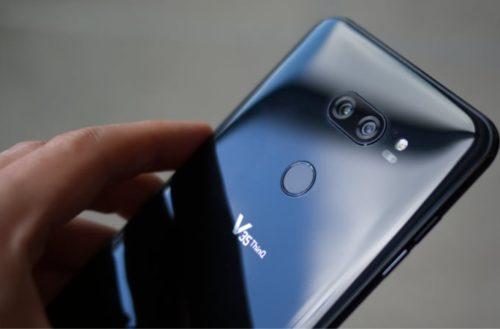 El nuevo smartphone LG V40 llegará equipado con cinco cámaras