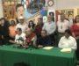 Decenas de priistas exigen renuncia de Enrique Juárez al frente del CDE