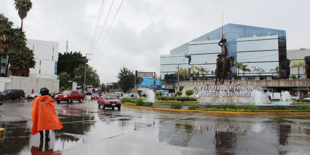 Lluvias moderadas se pronostican para Aguascalientes