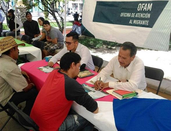 Oficina de atención a migrantes estará en Rincón de Romos