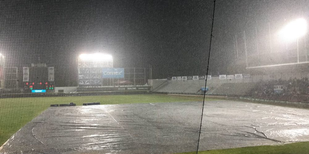 La lluvia suspendió el segundo juego entre Sultanes y Rieleros en Ags