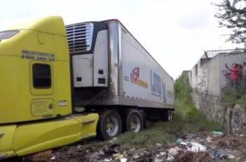 Buscarán en cuerpos de trailers de Jalisco a desaparecidos de Aguascalientes