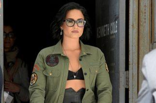 Captan a Demi Lovato en la calle luego de sobredosis