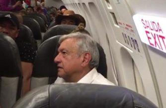 AMLO se vuelve a quedar varado en aeropuerto de Sonora