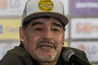 Maradona pide apoyo para Sinaloa