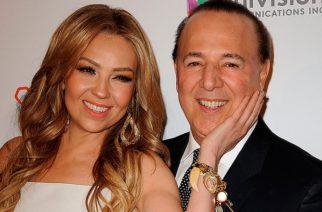 Predice Mhoni Vidente lo que ocurrirá con la relación entre Thalía y Tommy Mottola