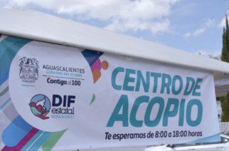 Apertura DIF estatal centro de acopio en apoyo a damnificados de Sinaloa