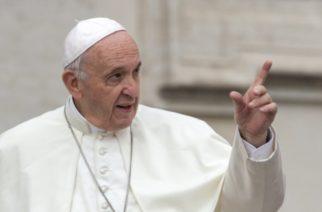 """Papa recibe mensaje de AMLO; apoyará a los """"ninis"""""""