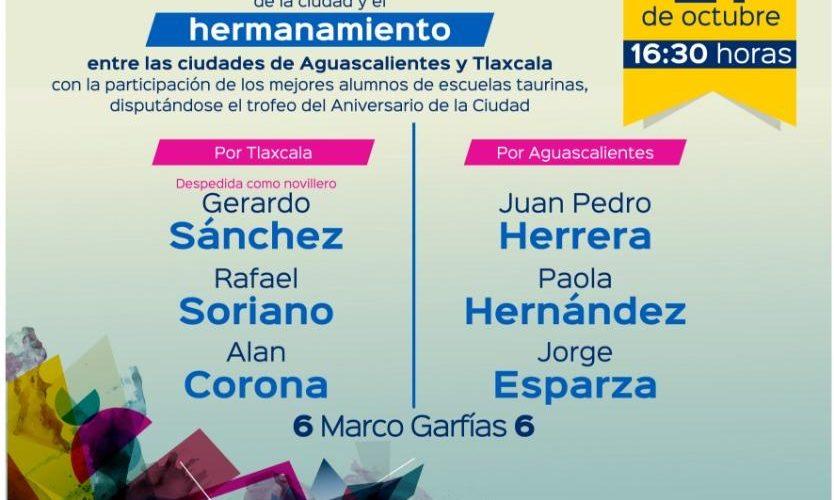Anuncian mano a mano taurino entre Aguascalientes y Tlaxcala