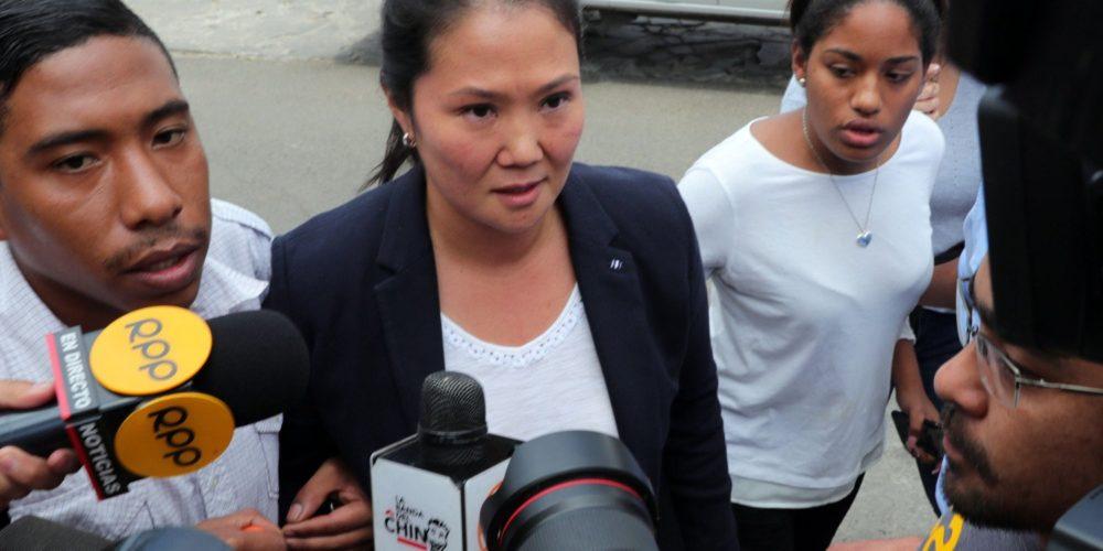 Detienen a Keiko Fujimori por recibir aportaciones ilegales de Odebrecht
