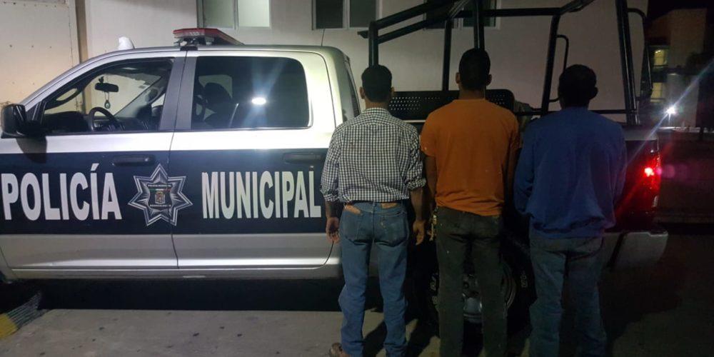 Tres sujetos machetearon a su vecino en Aguascalientes