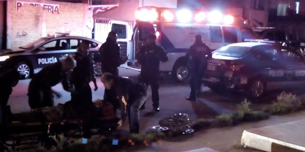 Rescatan policías a ratero en Ags