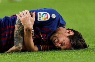 Lionel Messi se perderá el clásico vs Real Madrid por fractura de brazo