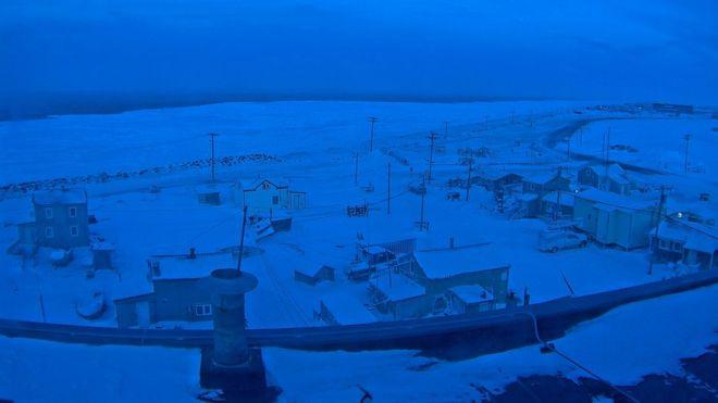 Utqiaġvik, el pueblo de Alaska que no volverá a ver el sol hasta el 23 de enero