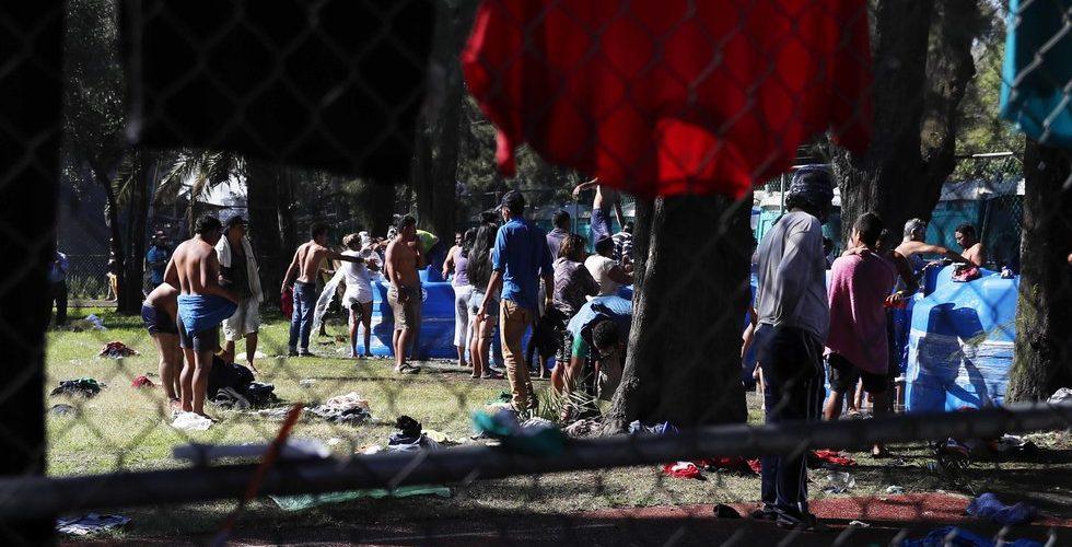 Caravana Migrante rechaza refugio y empleo temporal: Segob