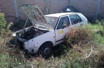 Recupera Policía Ministerial 12 automotores con reporte de robo