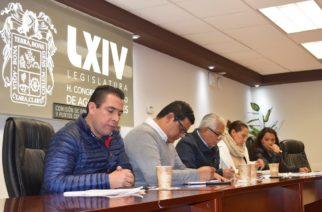 Analizan en comisiones posibles modificaciones al COTEDUVI