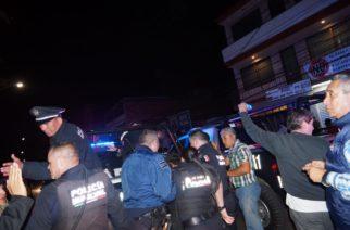 Represión en Aguascalientes
