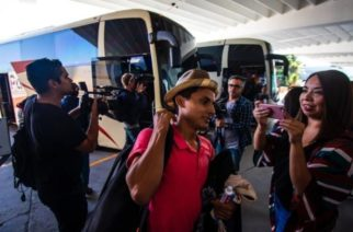 Arriba a Tijuana primer grupo de migrantes de la Caravana