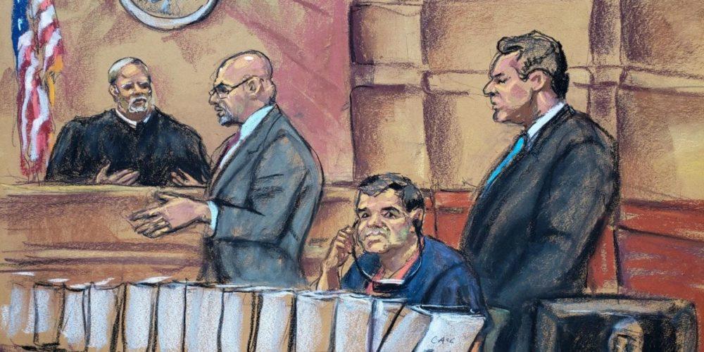"""Siete mujeres y cinco hombres juzgarán a """"El Chapo"""" en Estados Unidos"""