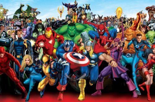 Checa los personajes creados por Stan Lee