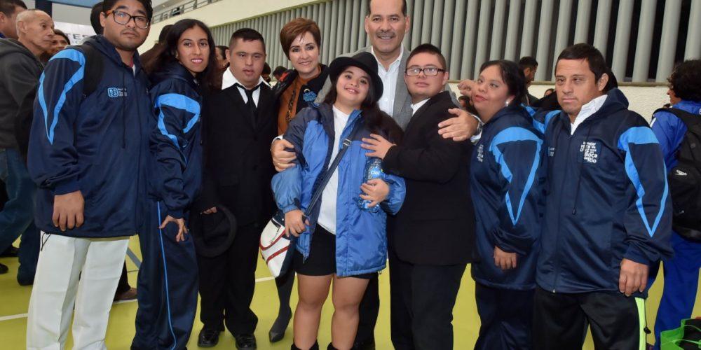 Inaugura MOS la Fiesta Nacional Deportiva Paralímpica 2018