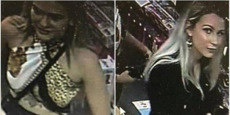 Ofrecen recompensa por par de mujeres que robaron una sexshop