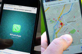 WhatsApp te ayuda a saber la ubicación de tus contactos