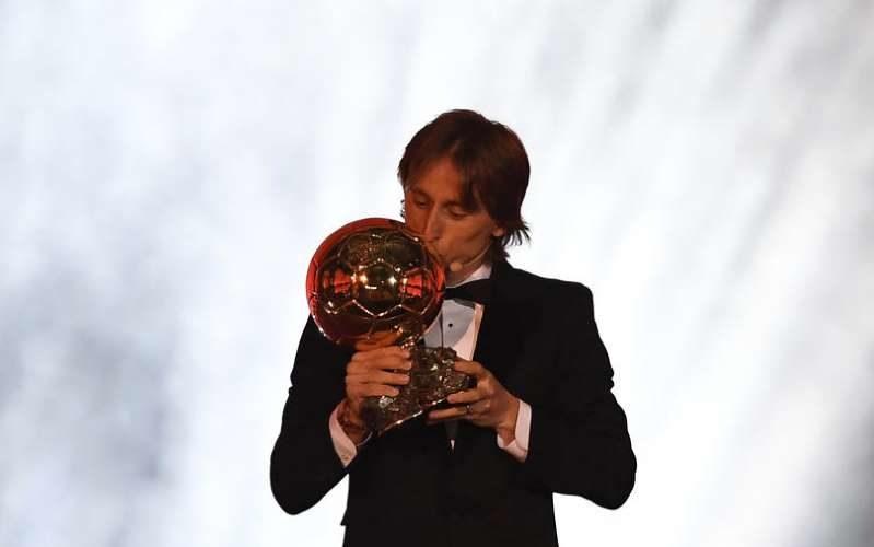 Modric se lleva el Balón de Oro