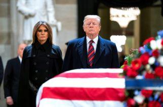 Inician funerales de Estado para el expresidente George H.W. Bush