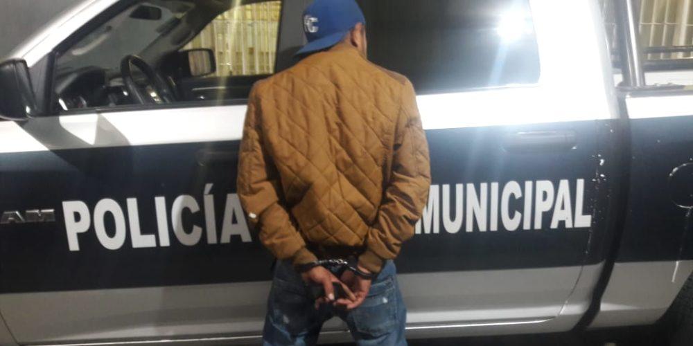 Detienen a sujeto con orden de aprehensión por venta de drogas en Ags