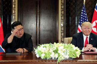Trump cumplirá las promesas que le hizo a Kim Jong-un