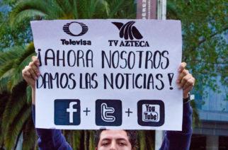 Segunda edición de La #MarchaYoSoy132 en la Estela de Luz. Llegó al ángel de la independencia para terminar en Televisa Chapultepec. En contra del regreso del PRI con Enrique Peña Nieto, y la manipulación mediática de Televisa y aledaños.