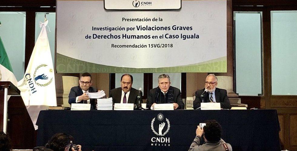 CNDH aportará información a la Comisión de la Verdad sobre Ayotzinapa