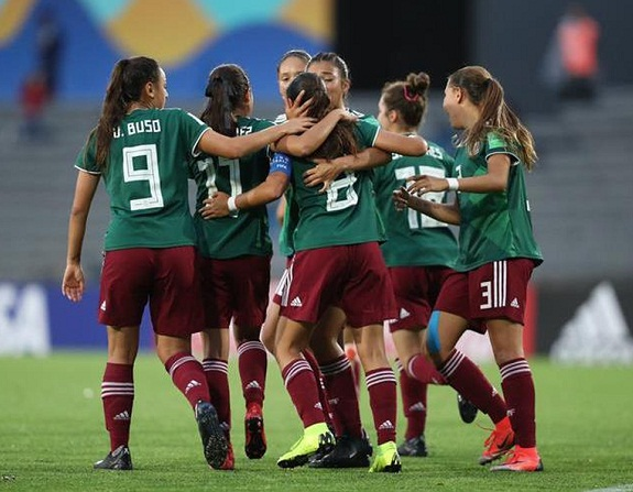 Selección Femenil cae ante España en Mundial de Futbol Sub-17