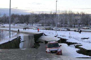 Ya suman 190 réplicas de sismo de 7.0 grados en Alaska