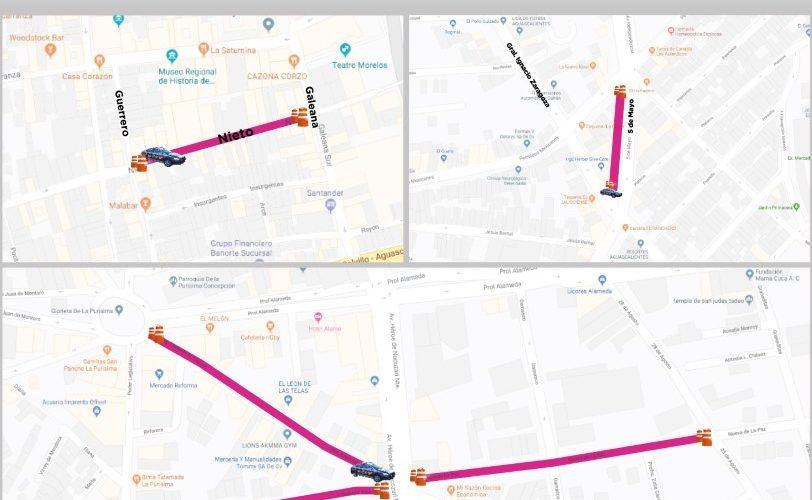 Arranca operativo de seguridad vial en zona centro y tianguis de la ciudad