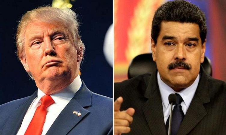 Desconoce Trump gobierno de Nicolás Maduro en Venezuela