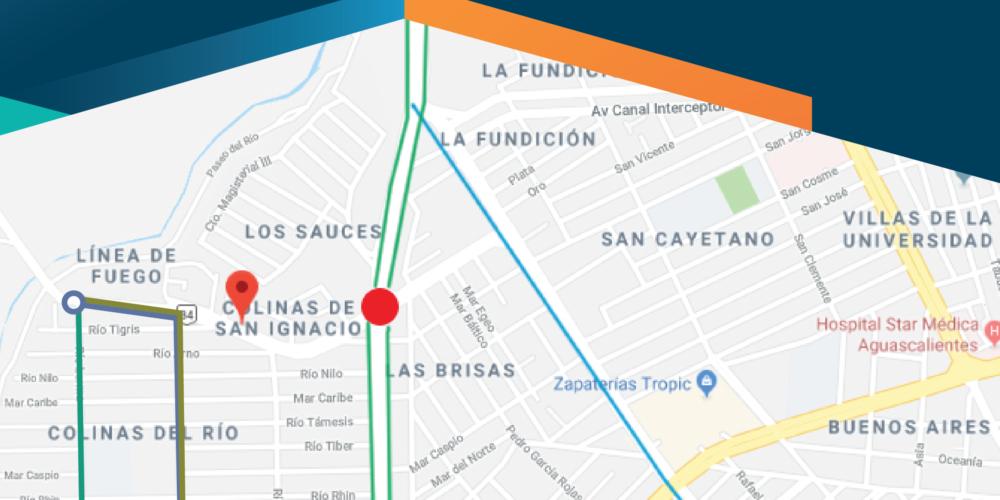 Anuncian cierres de vialidad por obras en paso a desnivel de Camino a San Ignacio
