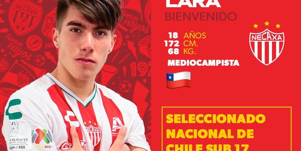 Necaxa suma al chileno Martín Lara a sus filas de cara al CL19