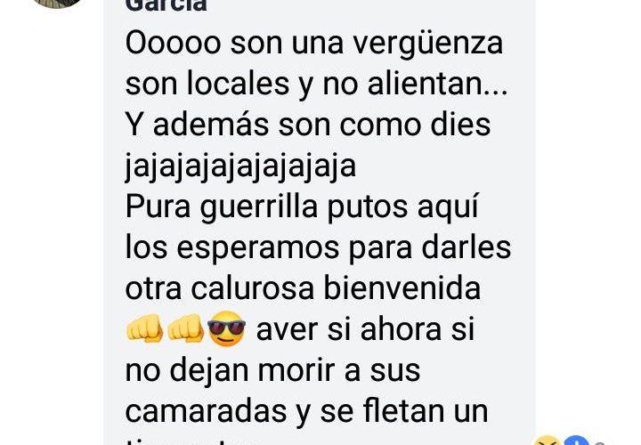 Ahora aficionados de San Luis Potosí amenazan a barristas de Necaxa