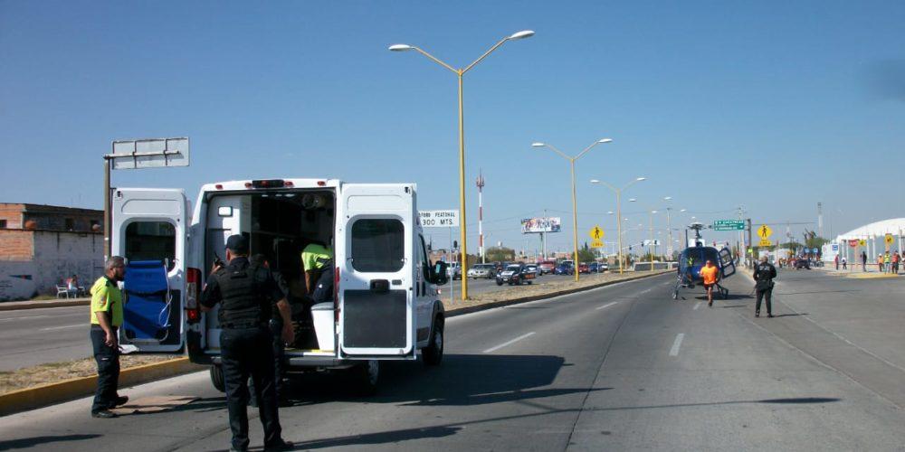 Balacera con persecución deja un malandro muerto y un policía herido en Ags
