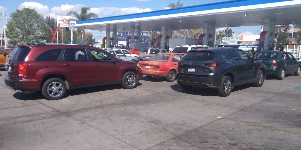 Se agrava desabasto de gasolinas en Aguascalientes