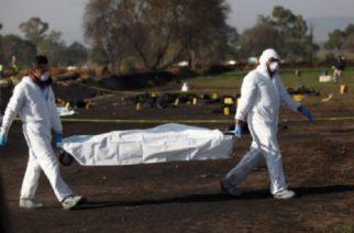 Sube a 71 muertos el saldo de la explosión en ducto de Hidalgo